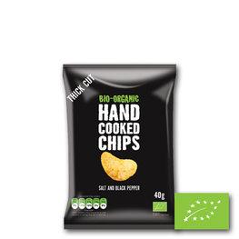 Trafo Chips Salt & Black Pepper BIO (15x40gr)