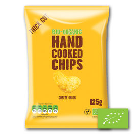 Grote Zak Trafo Chips Cheese Onion BIO (10x125gr)