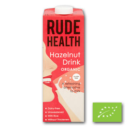 Rude Health Hazelnut Drink BIO (6x1ltr)