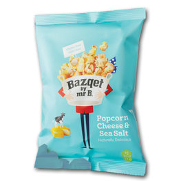 Bazqet Popcorn Cheese & Sea Salt (24x22gr)