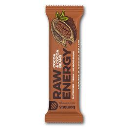 Bombus Raw Energy Bar Cocoa & Cocoa Bean (20x50gr)