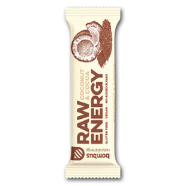Bombus Raw Energy Bar Coconut & Cocoa (20x50gr)