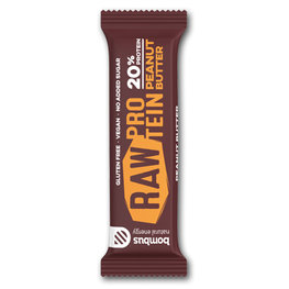Bombus Raw Protein Bar Peanut Butter (20x50gr)