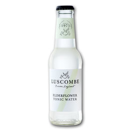Luscombe Elderflower Tonic Water (24x200ml)