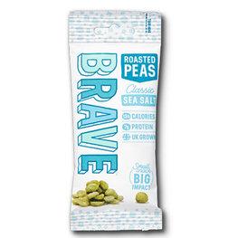 Brave Roasted Peas Sea Salt (12x35gr)