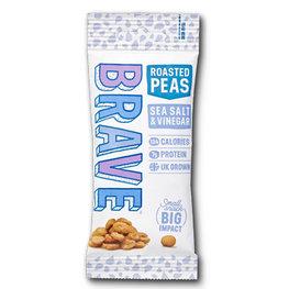 Brave Roasted Peas Salt & Vinegar (12x35gr)