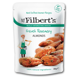 Mr Filberts French Rosemary Almonds (12x40gr)