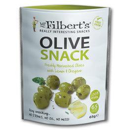 Mr Filberts Olives Lemon & Oregano (8x65gr)