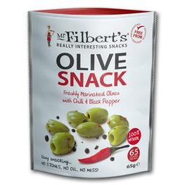 Mr Filberts Olives Chilli & Black Pepper (8x65gr)