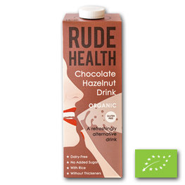 Rude Health Chocolate Hazelnut Drink BIO (6x1ltr)