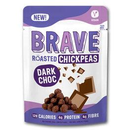Brave Roasted Chickpeas Dark Choc (12x30gr)
