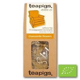 Teapigs Loose Pyramids Chamomile Fl. BIO (6x15st)