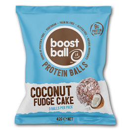Boost Ball Coconut Fudge Cake (12x42gr)