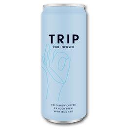 Trip CBD Infused Cold Brew Coffee (12x250ml)