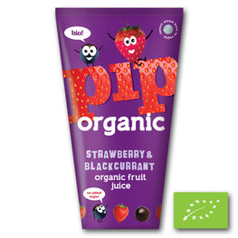 Pip Juice Strawberry & Blackcurrant BIO (24x180ml)
