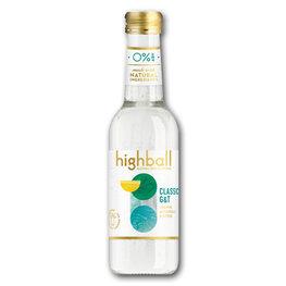 Highball Classic G&T Alcohol Free (12x250ml)