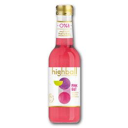 Highball Pink G&T Alcohol Free (12x250ml)