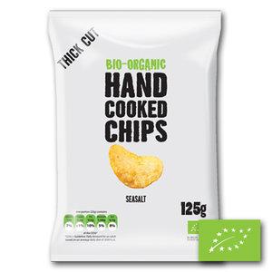 Grote Zak Trafo Chips Sea Salt BIO (10x125gr)