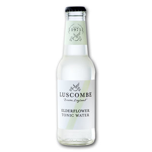 Luscombe Elderflower Tonic Water (24x200ml)